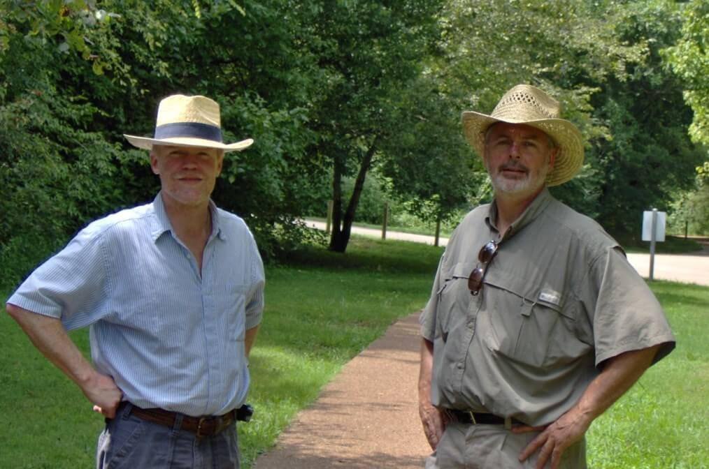 with Terrance Quinn, Murfreesboro, Tennessee, August 2006